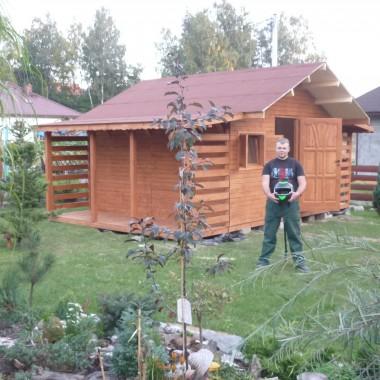 Domek ogrodowy&#x3B;-)
