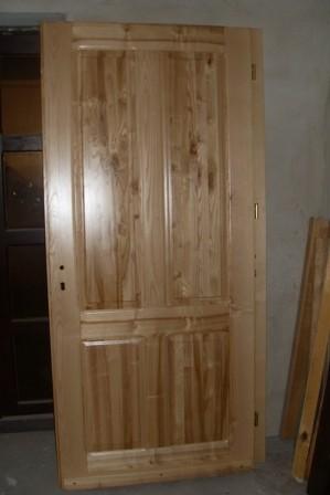Pozostałe, Stolarstwo - drzwi  Jesionowe  lakierowane  zewneczne