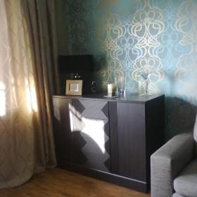 pokój dzienny i sypialnia drobna zmiana