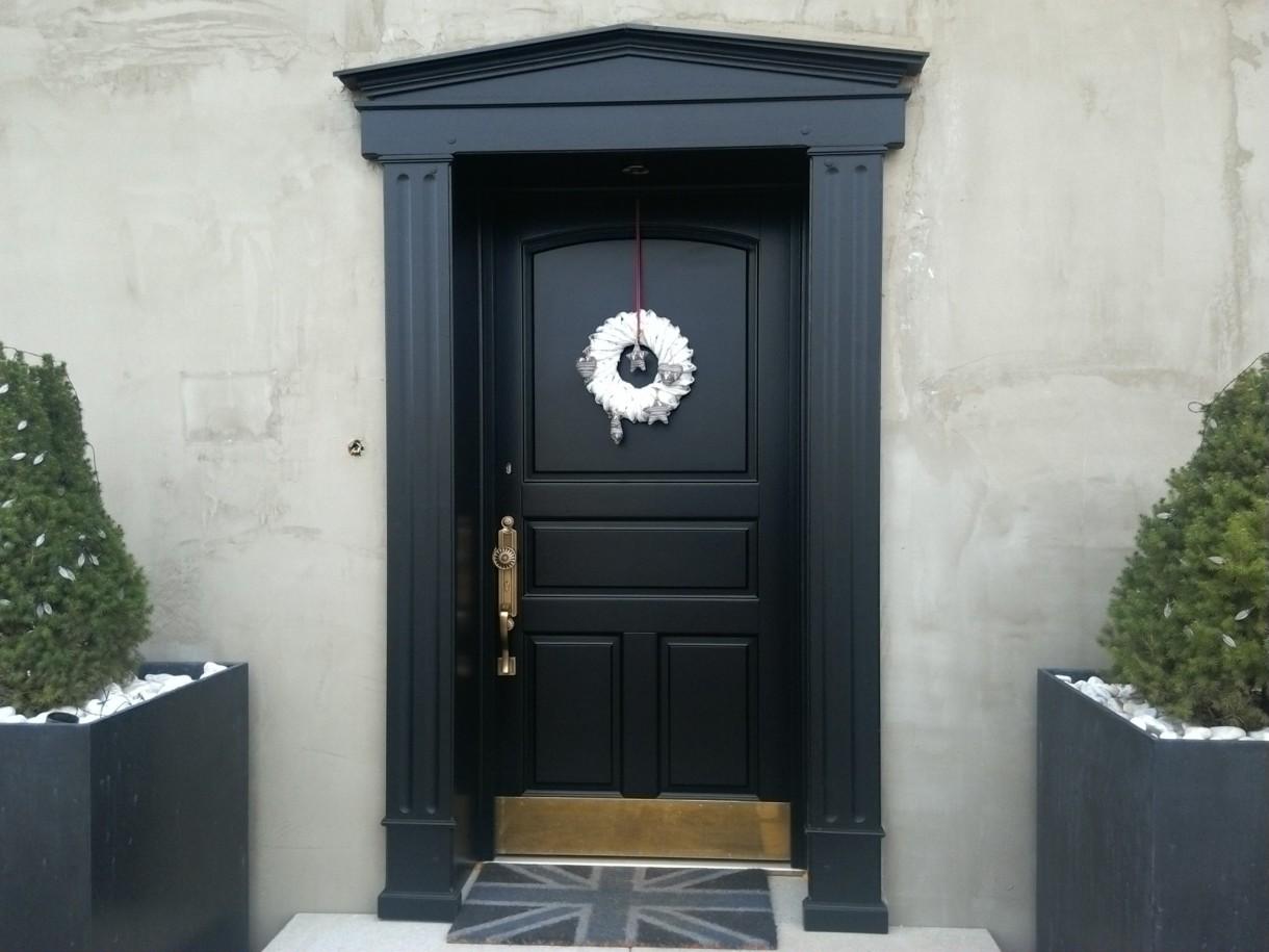 Okna i drzwi, Drzwi projekt własny