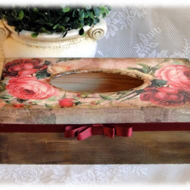 Szkatułka na chrzest i chustecznik