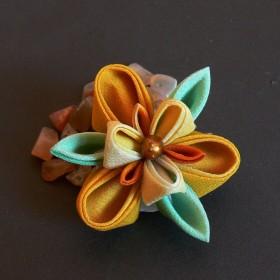 Kwiaty kanzashi ...