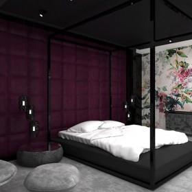 ARTDESIGN HOME COCKTAIL. Projekt sypialni i łazienki