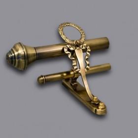 Karnisze Retro z Mosiądzu,Piękne lampy z mosiądzu.