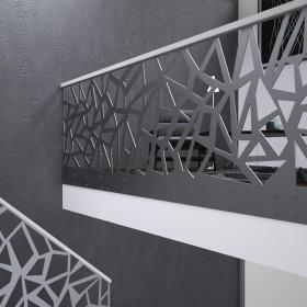 Balustrady - drewniane, szklane, wycinane laserem