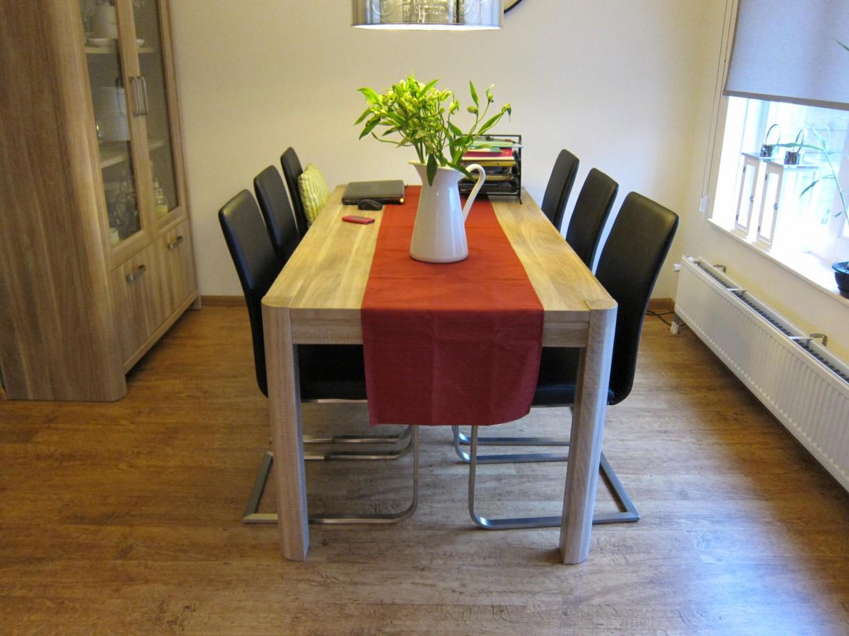 Salon, zmiany w salonie i kuchni
