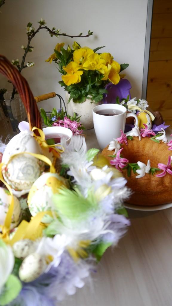 Balkon, Świątecznie - czas na gorącą herbatę