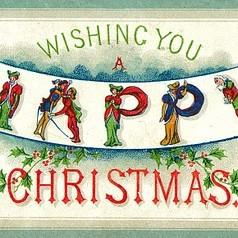 Stare kartki z okazji Świąt Bożego Narodzenia