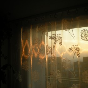 Zachody słońca w moim oknie