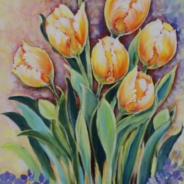 Kolory uśmiechniętej wiosny