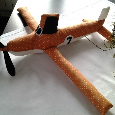 Samolot i literki