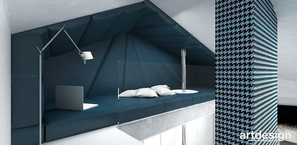 Garderoba, ARTDESIGN PERFORMANCE. Wnętrza domu (cz. 2) - sypialnia na antresoli
