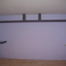 sypialnia na andresoli pod koniec remontu :)