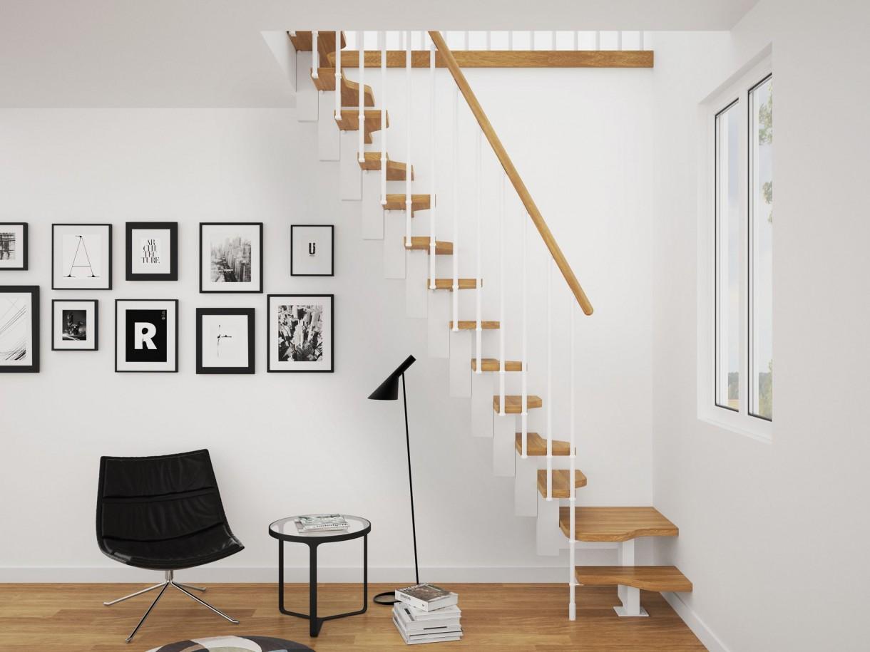 Jakie schody do wnętrza skandynawskiego?
