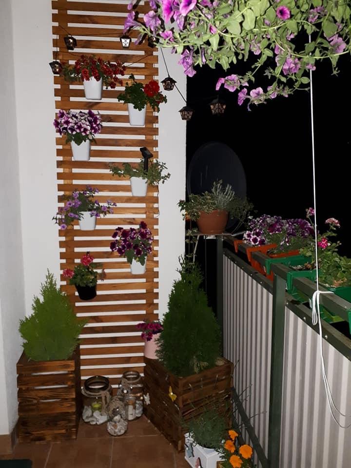 Balkon, Mały ogród na drugim piętrze:)
