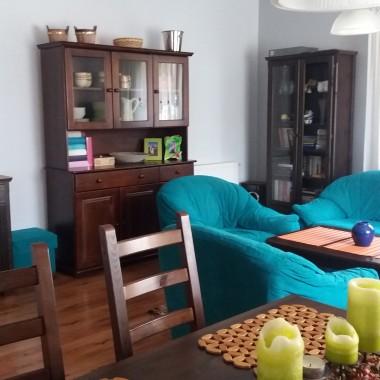 Salon po malej metamorfozie kolorystycznej