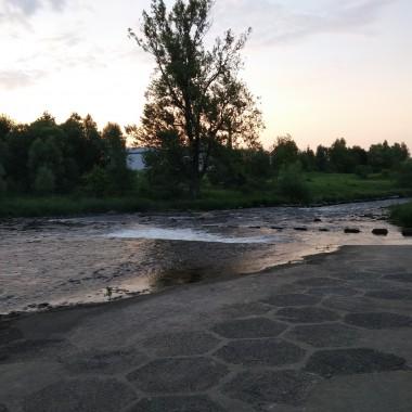 rowerem nad rzekę