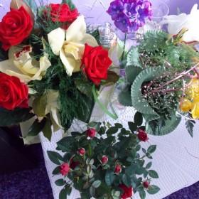 urodzinowe kwiaty :-)