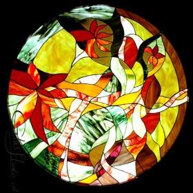 Artystyczne wyroby ze szkła.