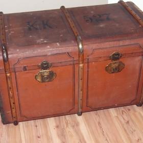 Stara skrzynia, kufer