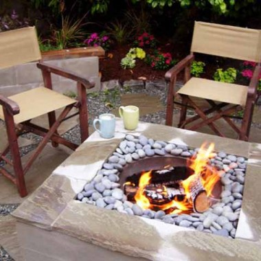 """""""Domowe ognisko"""" - inspiracje ogrodowe z paleniskiem."""
