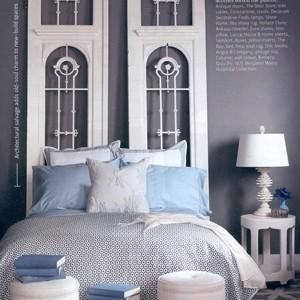Zagłówek królem łóżka