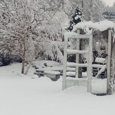 .... tego właśnie chcę Wam kochani życzyć na ten Nowy Rok. Tym co na śnieg czekają- niech go zobaczą jak rankiem wstaną, spragnionym słonka- jak najwięcej słonecznych dni,  leniwych poranków dla Tych co dzień witają kawką, słodkości Tym, co za nimi przepadają, czasu dla Wszystkich co pasje mają, a przede wszystkim życzę Wam i sobie byśmy potrafili się zatrzymać i dojrzeć piękno i dobro wokół nas. Serdecznie Wam dziękuję za życzenia.