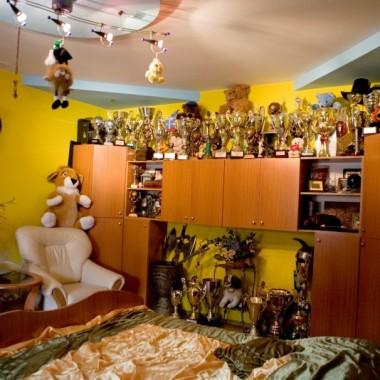 Zdjęcia pochodzą z programu MTV Cribs.