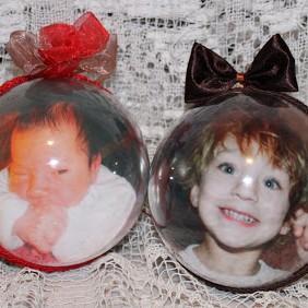 Bombki ze zdjęciami - wersja 2012, czyli idą święta