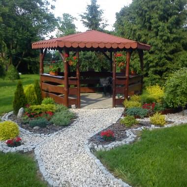 Mój ogród Jak powstała altana