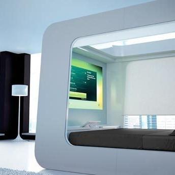 Hi Can Bad - technologia w Twoim łóżku, multimedialny mebel do s