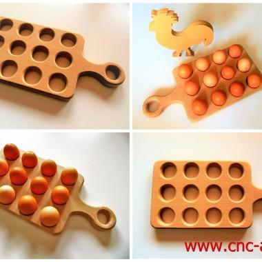 Deska do serwowania jaj