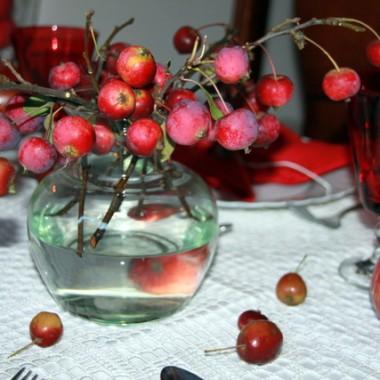 Jabłka w tym roku obrodziły....