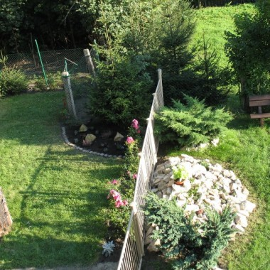 zmiany w ogródku