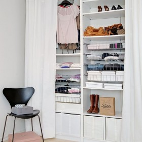 Garderoba -tymczasowa