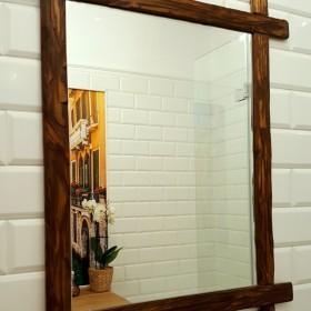 Jak zrobić drewnianą ramę lustra?