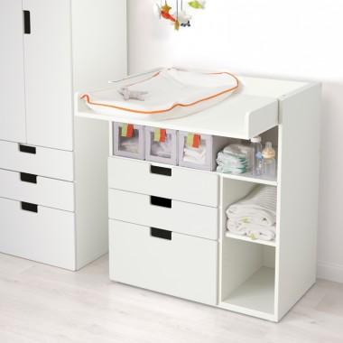 SUNDVIK  - Stół do przewijania/komoda, biały Cena: 499 PLNhttp://www.ikea.com/pl/pl/catalog/products/90256727/
