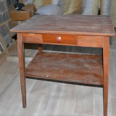 Nowe życie stolika i krzeseł