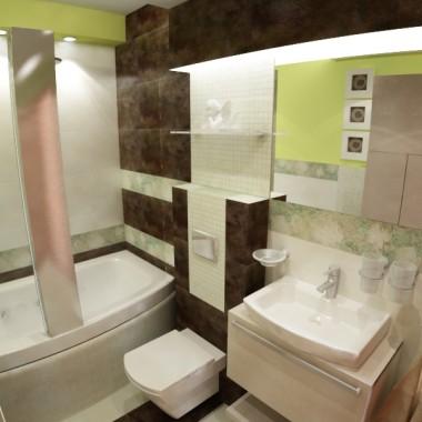 łazienka projekt wizualizacja