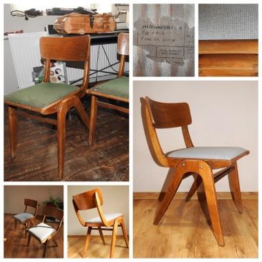 krzesło tym Bumerang renowacja