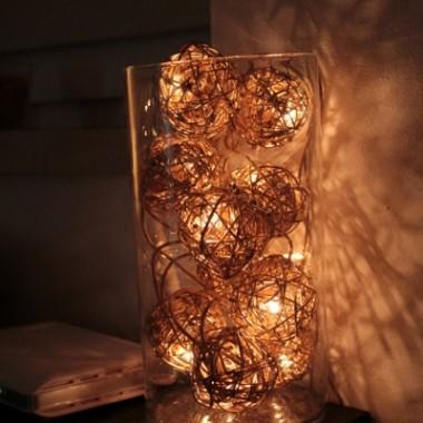 nowy nabytek - lampki:)