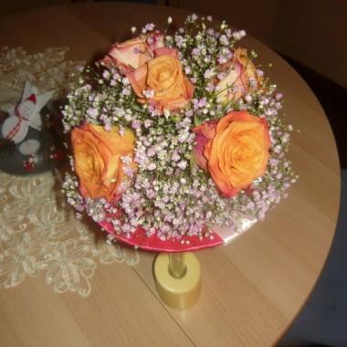 Wiazanka ślubna ... &#x3B;)