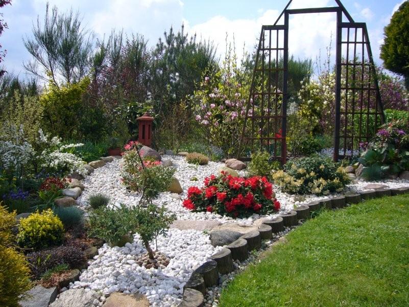 Ogród, Barwy wiosny.