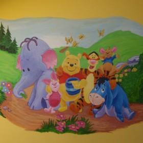 Obrazki ścienne dla dzieci.