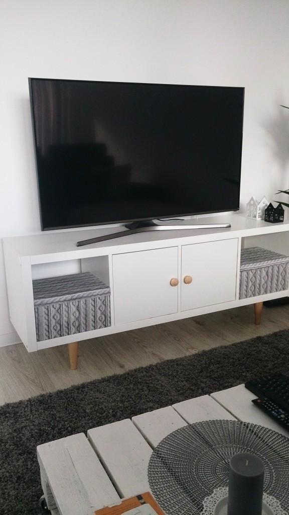 Regał Ikea Czyli Szafka Pod Tv Diy Deccoriapl