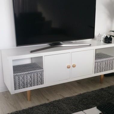 regał IKEA- czyli szafka pod TV -diy