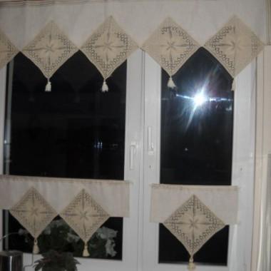 Wystrój okien kuchennych