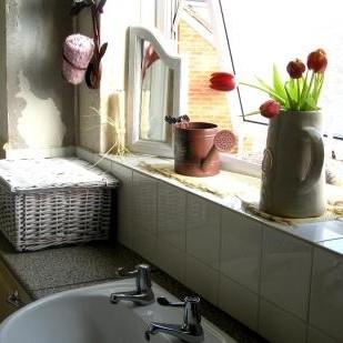 moja mała łazieneczka w stanie surowym