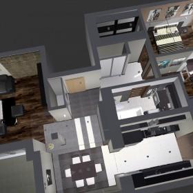 Mieszkanie w dwóch wersjach - WERSJA 1