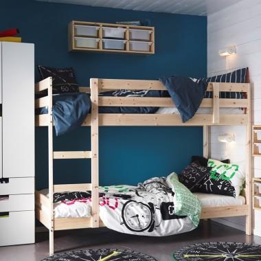 MYDAL - Rama łóżka piętrowego, sosnaCena: 649 PLNhttp://www.ikea.com/pl/pl/catalog/products/00102452/